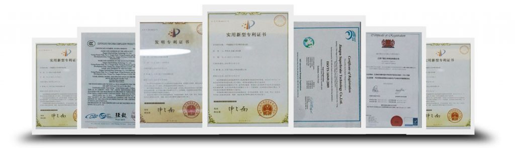 ARS Rubber CERTIFICATION