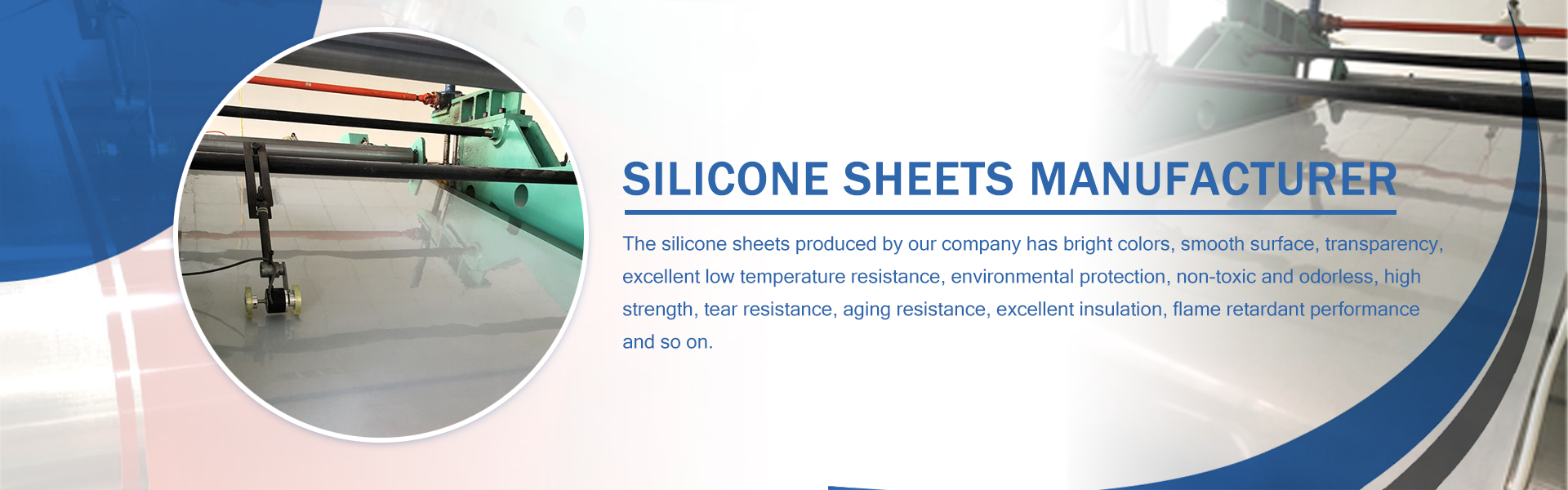 SILICONE SHEETS MANUFACTURER BANNER 03